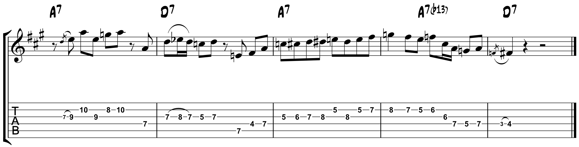 Playing the changes using the altered sound on a blues in a 10 20 15 playing the changes turning the corner in a one hexwebz Choice Image